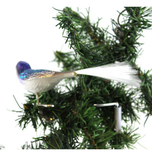 Old World Christmas Swallow Glass Ornament