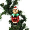 Old World Christmas Christmas Pixie With Clip Glass Ornament