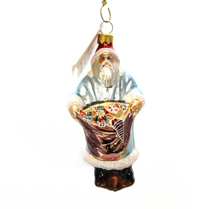 Christopher Radko Bag Of Goodies Glass Ornament