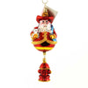 Christopher Radko Firehouse Cheer Glass Ornament