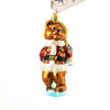 Christopher Radko Gifts To Bear Glass Ornament
