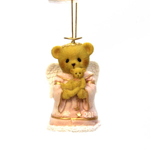 Cherished Teddies Hugs From Heaven Resin Ornament