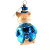 Christopher Radko Professor Piggins # Glass Ornament