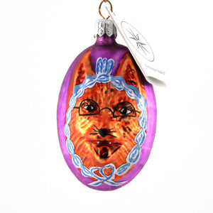 Christopher Radko My What Big Eyes # Glass Ornament