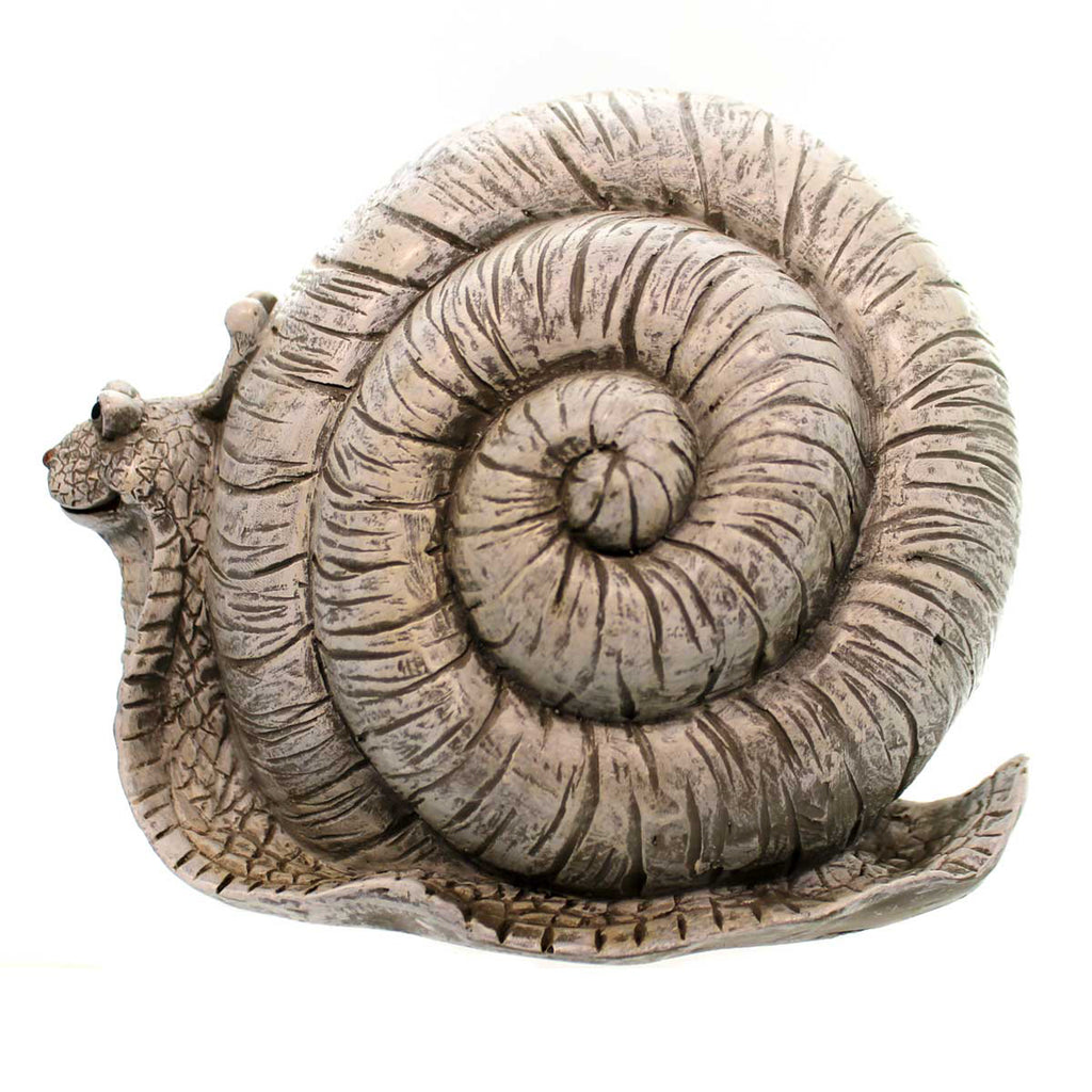 Home & Garden SNAIL GARDEN STATUE Polyresin Summer Outdoor Decor 10286