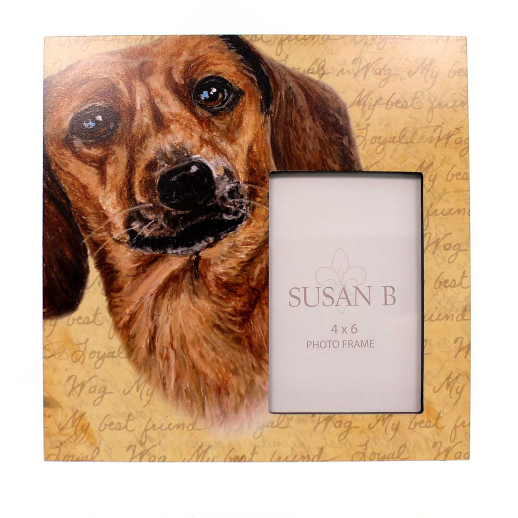 Animal Dachshund Red Frame Frame - Story Book Kids