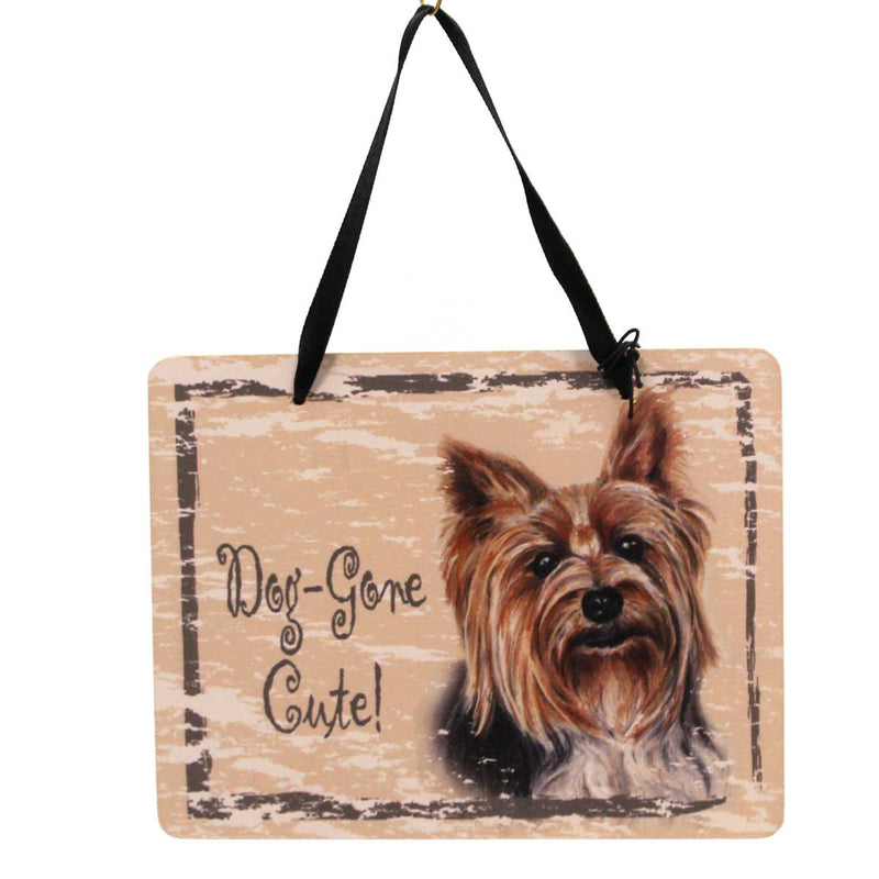 Animal Yorkshire Terrier Plaque Sign / Plaque - Story Book Kids
