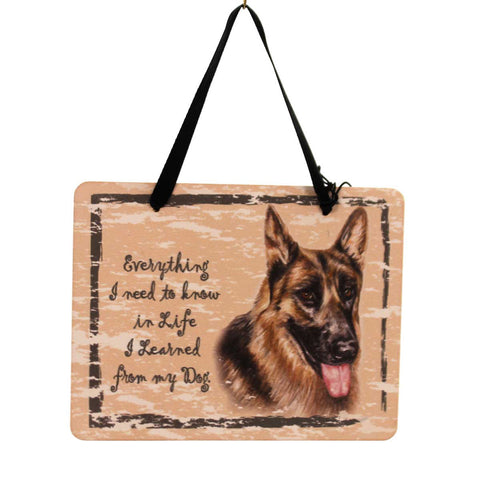 Animal German Shepherd Plaque Sign / Plaque 23961