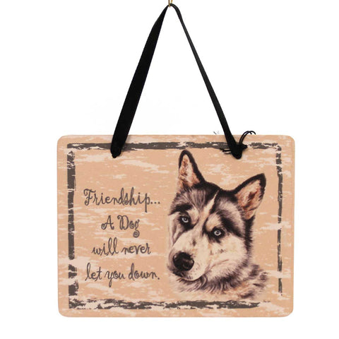 Animal Siberian Husky Plaque Sign / Plaque 23967