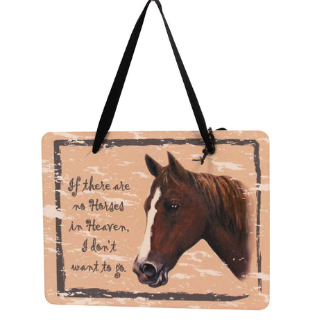 Animal Chestnut Horse Plaque Sign / Plaque 23977