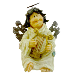 Boyds Bears Resin Muriel Heavenly Notes Figurine
