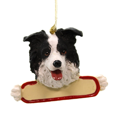 Personalized Ornaments Border Collie Personalized Ornament 24058