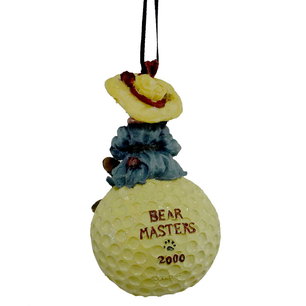 Boyds Bears Resin Nancy Driven To Win Ornament Resin Ornament