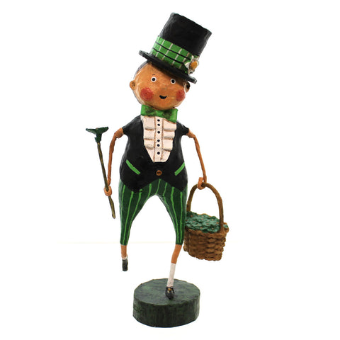 Lori Mitchell SHAY O'SHAMROCK Resin Lucky  Irish St Patricks 32008 24145