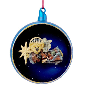 Boyds Bears Resin Zoe Starlight Ornament Glass Ornament