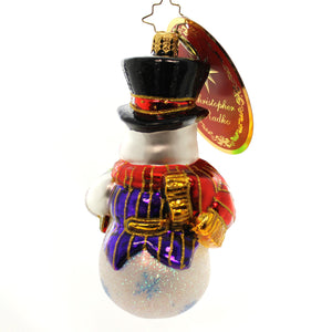 Christopher Radko A Gift For You Glass Ornament