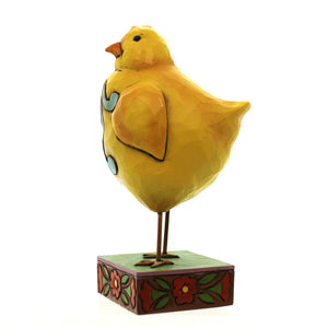 Jim Shore Feather Your Nest Figurine