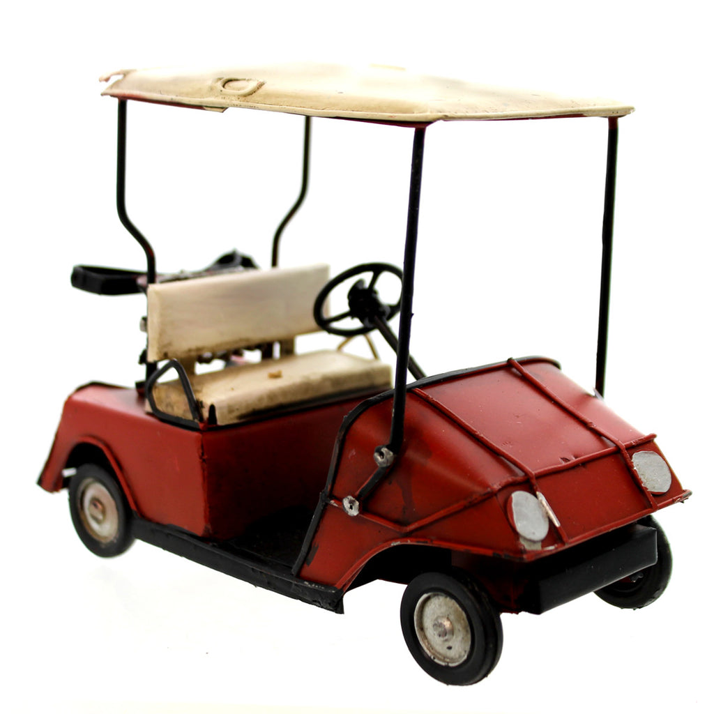 Home & Garden Vintage Golf Cart Tabletop