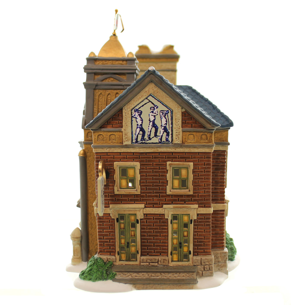 Dept 56 Buildings Essex Road Fencing Company Village Lighted Building