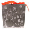 Christmas Let It Snow Chalk Sign Sign / Plaque
