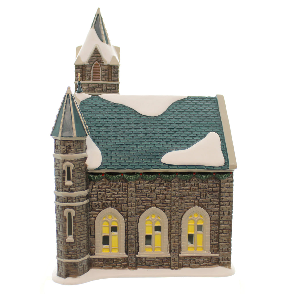 Dept 56 Buildings Church Of The Advent Village Lighted Building