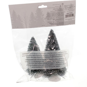 Department 56 Accessory Bag-O-Frosted Topiaries Village Roads & Landscapes