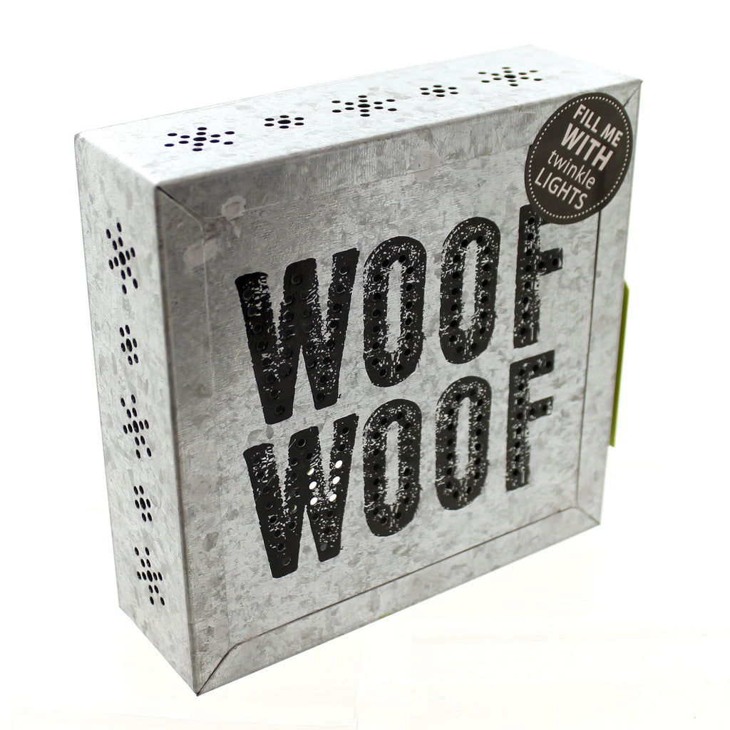 Home Decor Woof Woof Metal Wall Art Tabletop