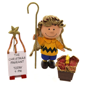 Peanuts The Christmas Pageant Christmas Figurine