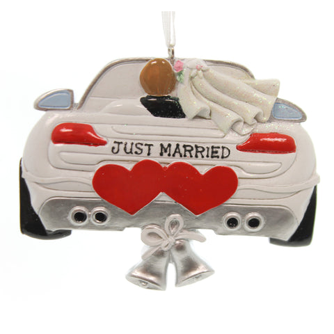 Personalized Ornament Wedding Car Ornament Personalized Ornament 25811