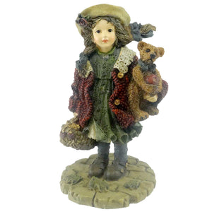 Boyds Bears Resin Candice W/ Matthew Figurine