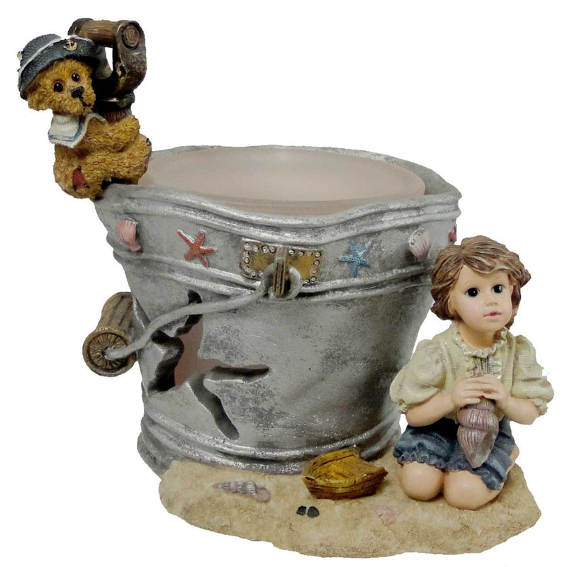 Boyds Bears Resin Lucinda And Dawn By The Sea Votive