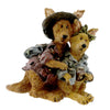 Boyds Bears Resin Joey & Alice Outback Trekkers Figurine