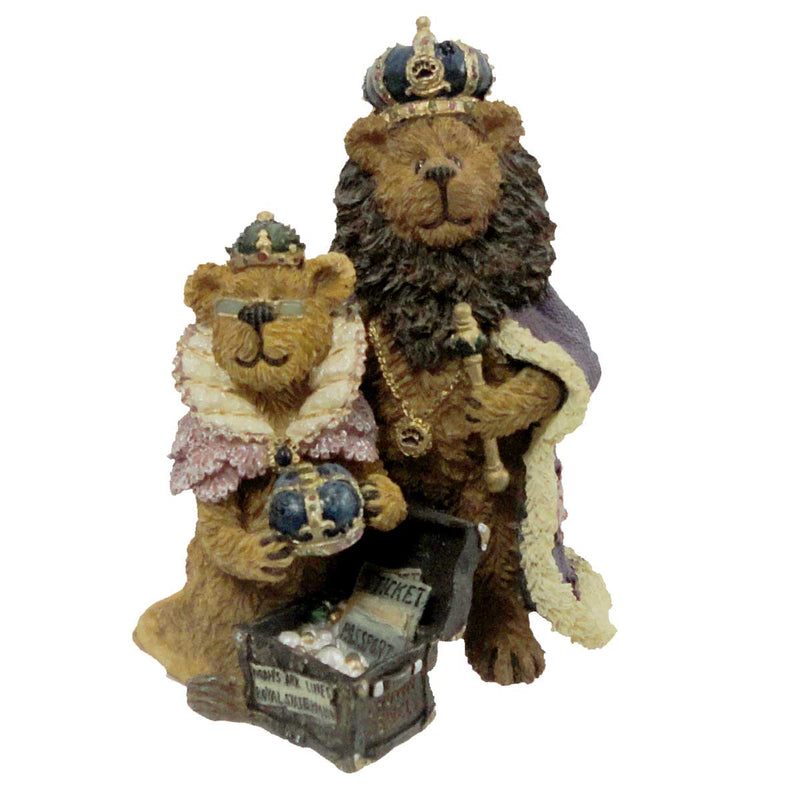 Boyds Bears Resin Aurora And Rex Saving The Fam Figurine