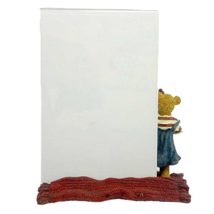 Boyds Bears Resin Megan McBruin & Friend Frame