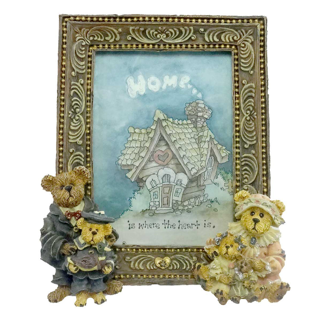 Boyds Bears Resin Gary Tina Matt Bailey Family Frame