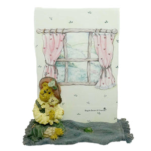 Boyds Bears Resin Patricia W/ Buddy Best Friend Frame