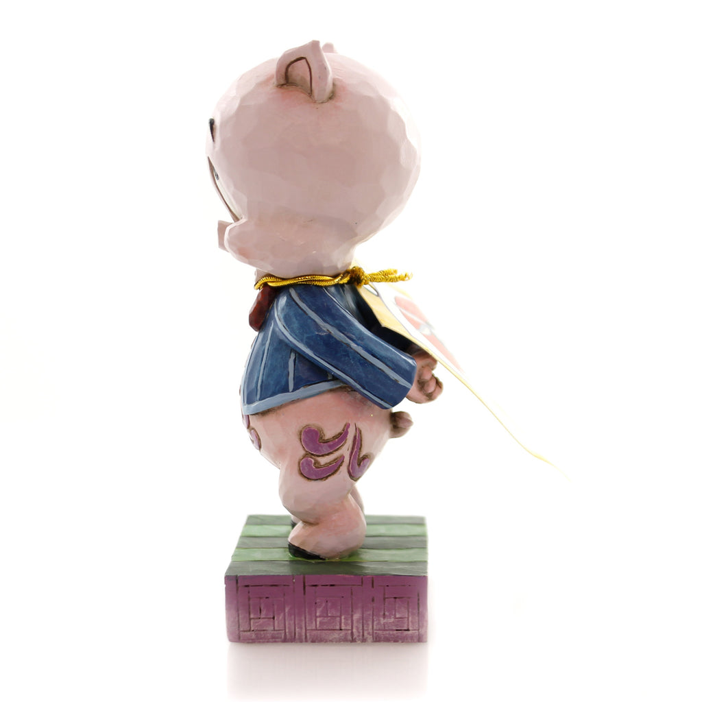 Jim Shore It's P-P-P-Porky Figurine