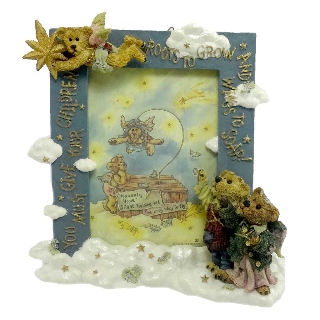 Boyds Bears Resin Wings To Soar Frame Frame