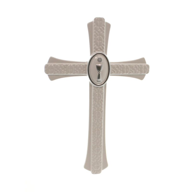 Religious First Communion Wall Cross Sign / Plaque