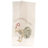 Home & Garden Rooster Flour Sack Towel Decorative Towel