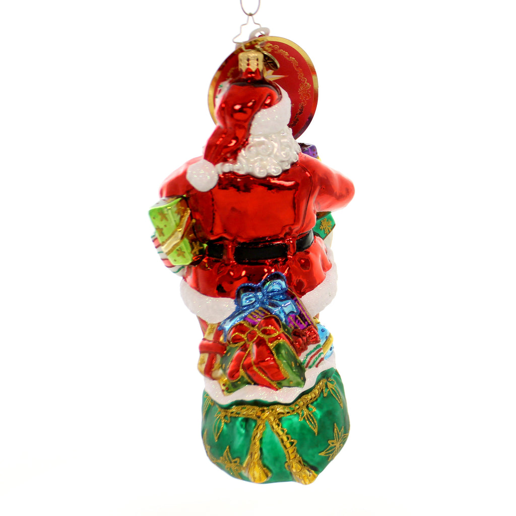 Christopher Radko Arm Full Of Joy Glass Ornament
