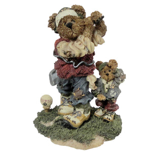 Boyds Bears Resin Arnold P Bomber The Duffer Figurine