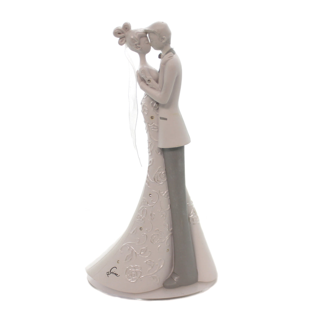 Wedding First Dance Cake Topper Figurine