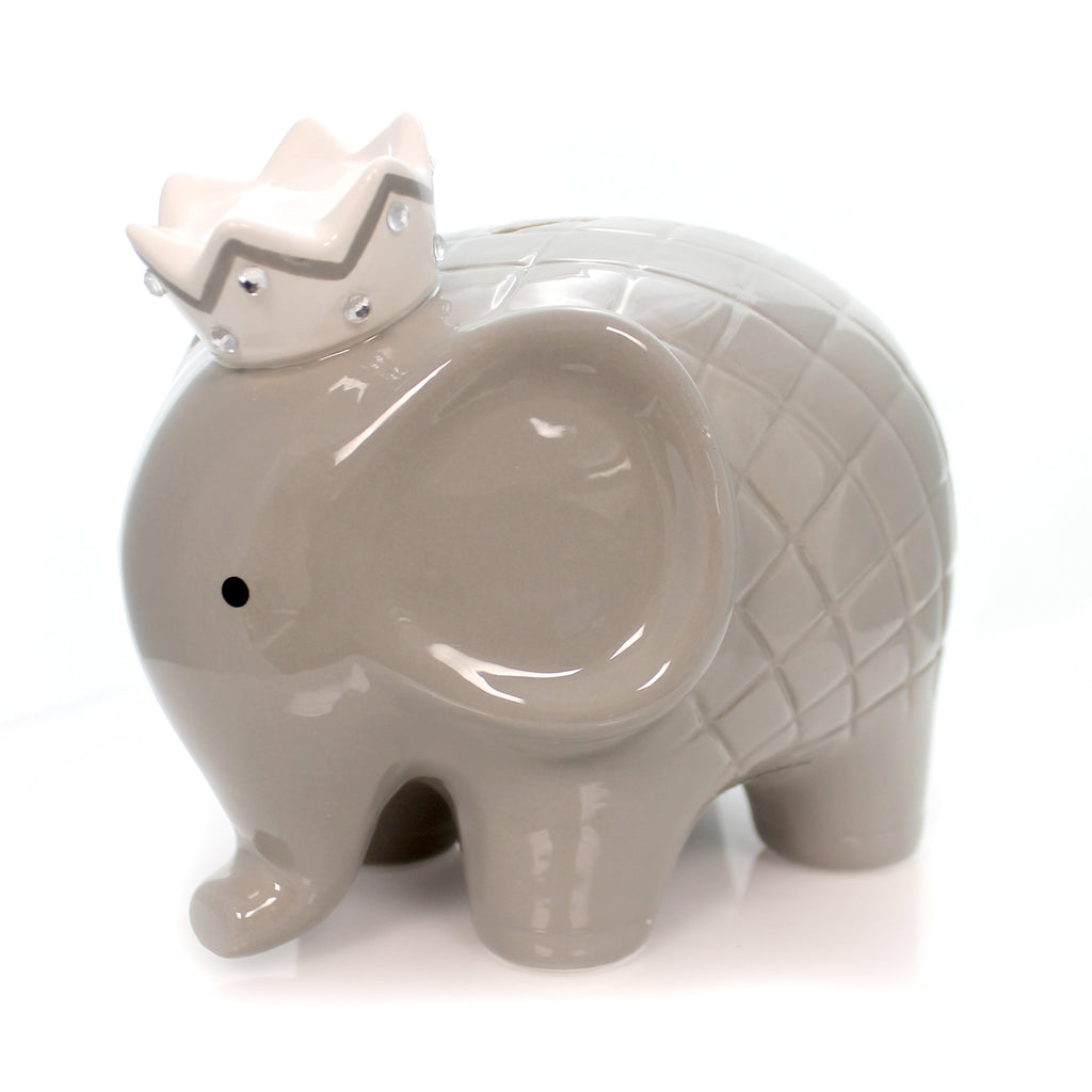 Bank Gray Coco Elephant Bank Bank