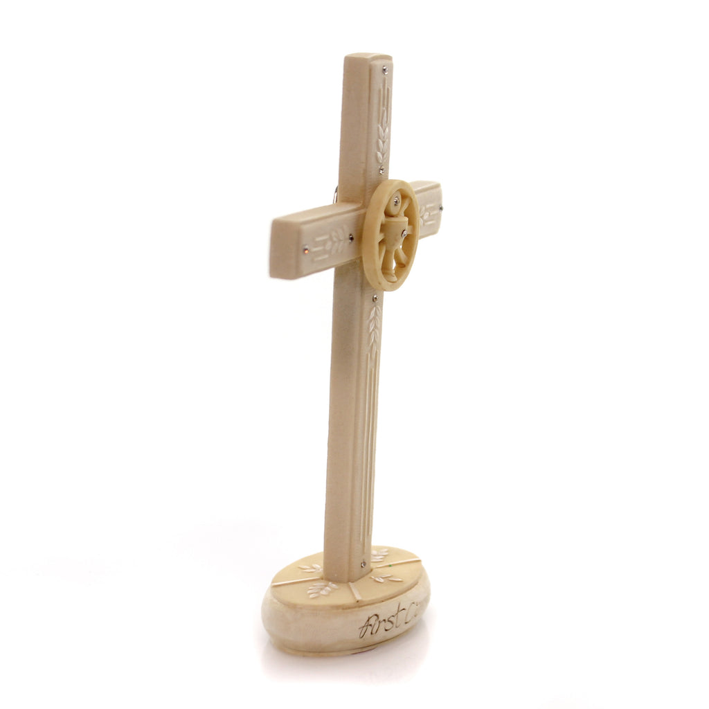 Foundations Communion Cross Figurine