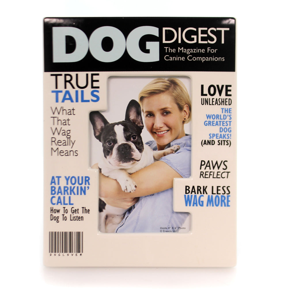 Home & Garden Dog Magazine Frame Frame