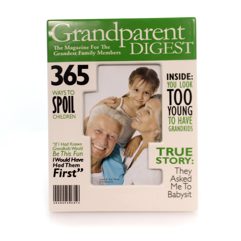 Home & Garden Grandparents Magazine Frame Frame
