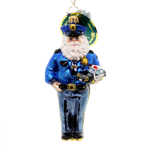 Christopher Radko Courageous Nick Glass Ornament 27790