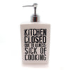Home Kitchen Closed Soap Pump Tabletop