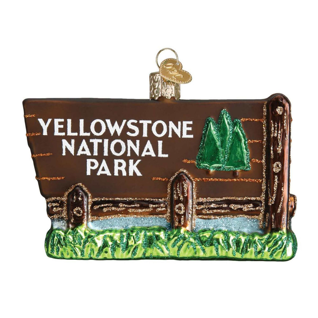 Yellowstone National Park 36173 Old World Christmas Glass Ornaments - SBKGIFTS.COM - SBK Gifts Christmas Shop Cincinnati - Story Book Kids